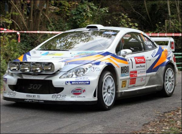 Qui pilotait ce véhicule au rallye du Var 2007 ?