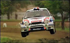 Qui était le pilote de cette voiture au rallye d'Argentine 1999 ?