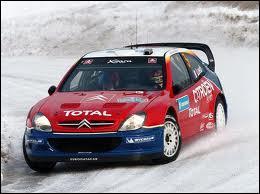 Qui pilotait cette voiture au rallye de Suède 2004 ?