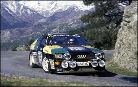 Quel était le pilote de cette voiture au rallye de Corse en 1981 ?