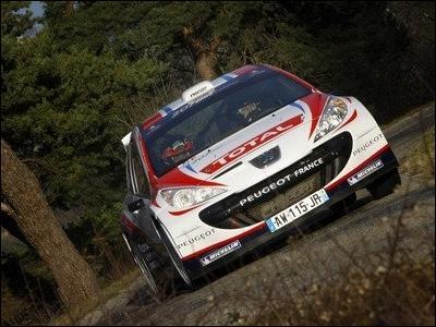 Quel pilote conduisait cette voiture au Monte carlo 2011 ?