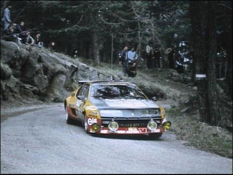 Qui pilotait cette voiture au rallye du Var en 1977 ?