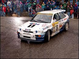 Qui pilotait ce véhicule au rallye d'Australie 2002 ?