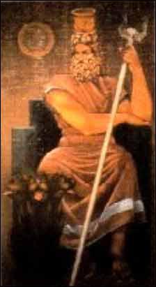 Voici un dieu issu d'un mélange entre la religion grecque et la religion égyptienne. Quel est son nom ?
