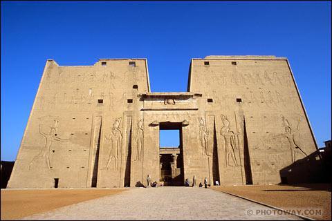 Voici un temple dédié à Horus. Mais où se situe-t-il ?