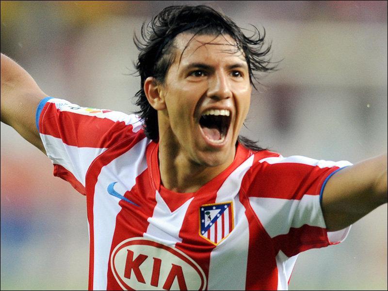 Sergio Aguero quitte Atletico Madrid pour :