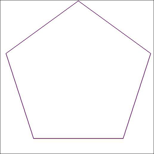 Comment s'appelle un polygone à 5 côtés ?