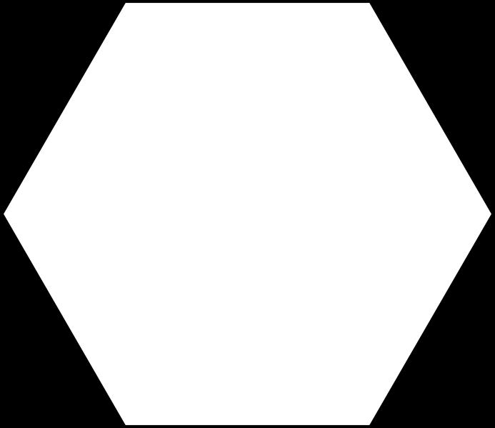 Comment s'appelle un polygone à 6 côtés ?