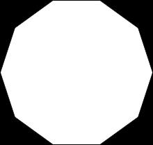 Comment s'appelle un polygone à 10 côtés ?