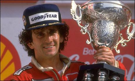 Il a participé à presque 200 Grands Prix ... .
