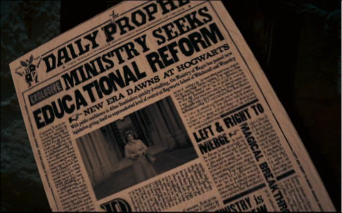 Qui a cambriolé le ministère de la Magie, selon l'article de la Gazette du Sorcier ?