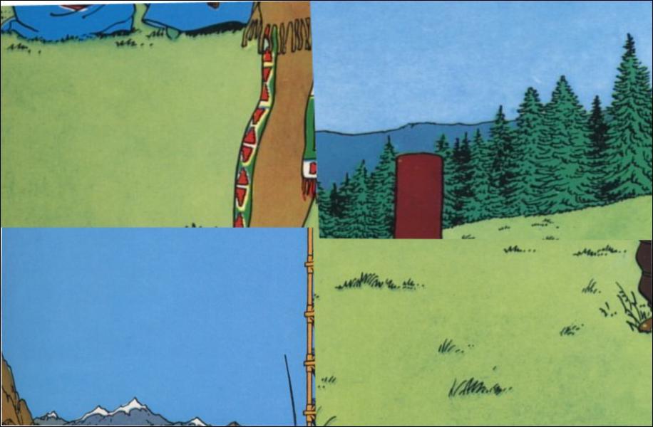 Quel est l'élément qui ne fait pas partie de l'album 'Tintin en Amérique' ?