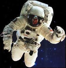 Comme les astronautes ... .