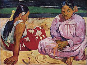 Qui a réalisé 'Femmes de Tahiti' en 1891, actuellement conservé au Musée d'Orsay ?