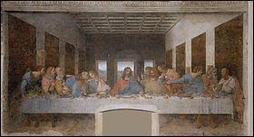 Qui a réalisé 'La Cène' de 1494 à 1498 ?