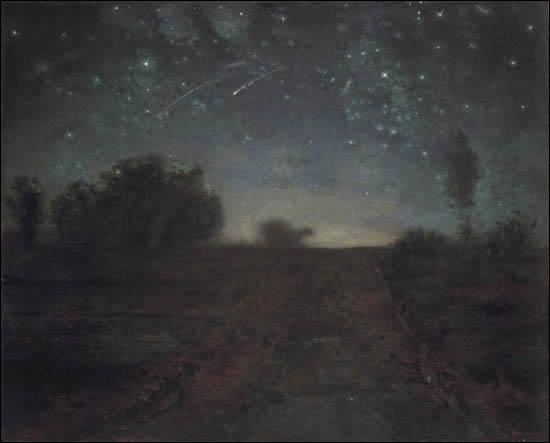 Qui a peint 'Nuit étoilée' ? (CLIQUEZ SUR L'IMAGE pour l'agrandir. )