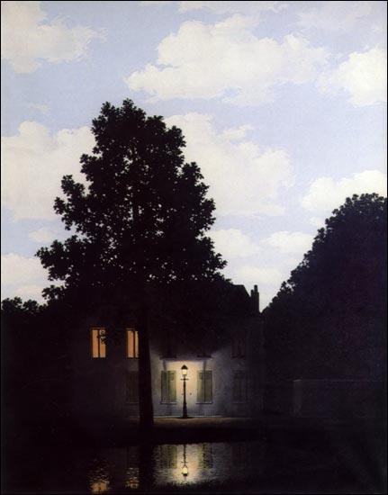 Qui a peint 'L'empire des lumières' ? (CLIQUEZ SUR L'IMAGE pour l'agrandir. )