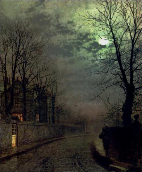 Qui a peint 'Une allée à Headingley' ? (CLIQUEZ SUR L'IMAGE pour l'agrandir. )