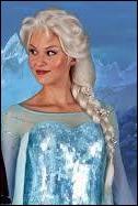 Quel est le prénom de cette reine qui exerce ses pouvoirs magiques sur la glace ?