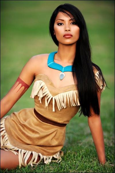 Qui est cette jolie indienne ?