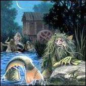 Le vodianoï est une créature marine issue de la :