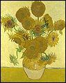 Combien Vincent Van Gogh a-t-il peint de tableaux dans sa série de peintures sur 'les tournesols' ?