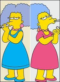 Comment s'appellent les soeurs de Marge ?