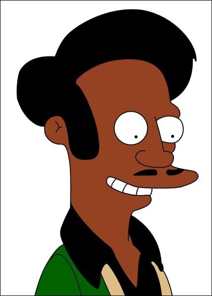 Quel est le prénom du gérant du mini-marché de Springfield ?