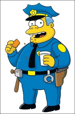 Qui est le chef de la police de Springfield ?