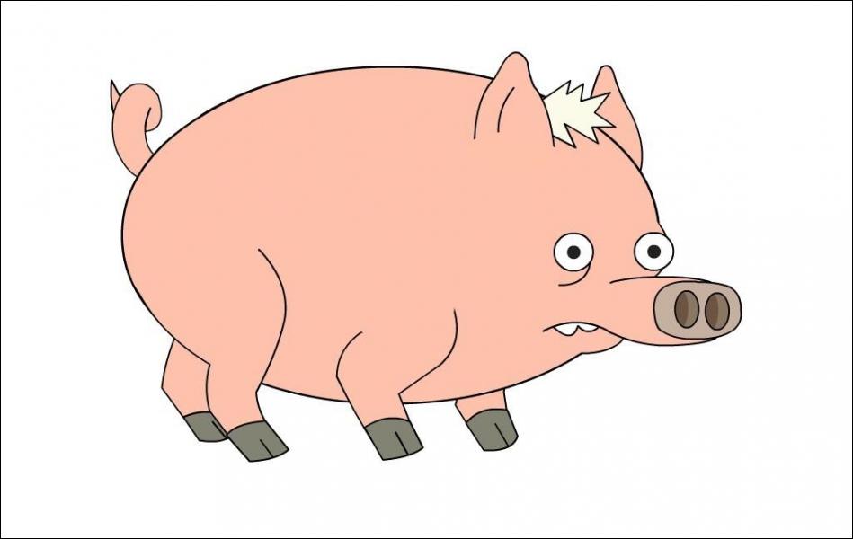 Quel est le nom qu'Homer a donné à ce cochon ?