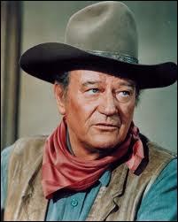 C'est sans doute l'acteur le plus représentatif du western. Il a joué dans 'La chevauchée fantastique' ou encore 'Rio Bravo' et il a aussi réalisé 'Alamo'. Qui est cet acteur de légende ?
