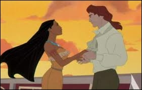 Dans  Pocahontas 2 , avec qui la jolie indienne décide-t-elle de se marier ?