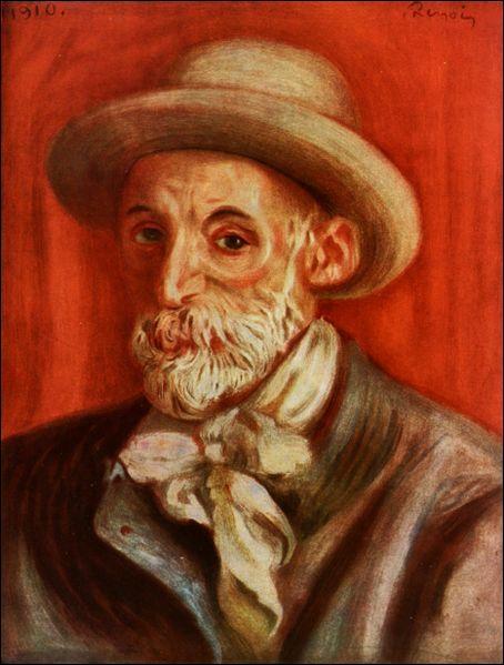 Qui est l'auteur et le sujet de cet autoportrait?