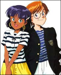 Dans quel manga peut-on voir ces deux personnages ?
