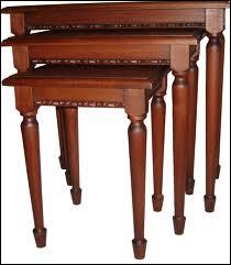 Ces tables bien pratiques s'appellent...