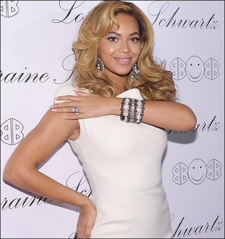 Lors de quelle célèbre cérémonie Beyoncé a-t-elle annoncé sa grossesse ?