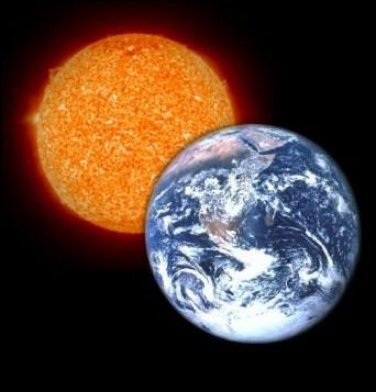 La distance entre la Terre et le Soleil est d'environ 150 millions de kilomètres.
