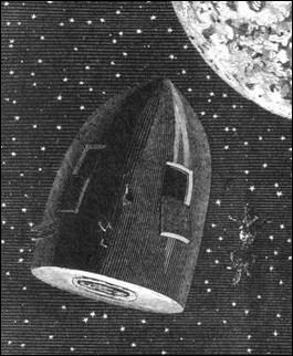 'De la Terre à la Lune' est une aventure publiée en 1865 et imaginée par Victor Hugo.