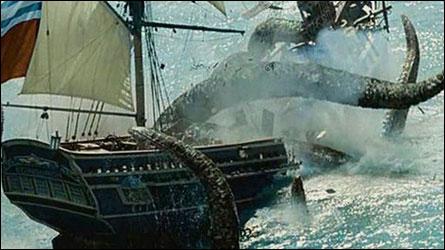 Dans quel(s) film(s) apparaît le Kraken ? .