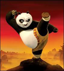 Comment s'appelle le jeune panda qui devient un maître du kung-fu ?