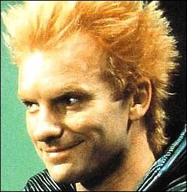 Sting en rouquin échevelé, c'était dans :