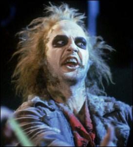 Michael Keaton en gentil monstre ébouriffé revenu d'entre les morts, c'est dans :