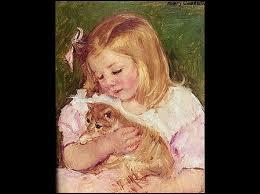 Qui a peint Sara et son chat ?
