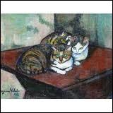 Qui a peint Les deux chats ?