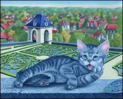 Qui a peint ce chat ?
