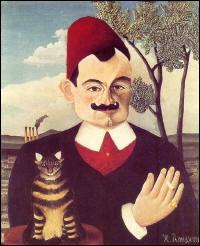 Qui a peint Pierre Loti et son chat ?