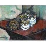 Les chats en peinture