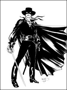 Zorro est un personnage de fiction créé par Johnston McCulley :