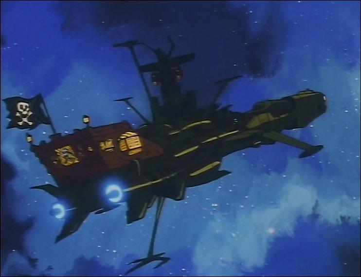 Quel est le nom du vaisseau piloté par Albator ?