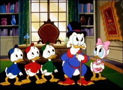 Comment s'appelle la petite-nièce adoptive de Picsou qui a le même âge que les neveux de Donald ?